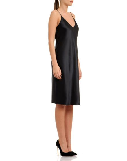 Silk Satin Slip Dress #Silk #Satin #Slip #Dress