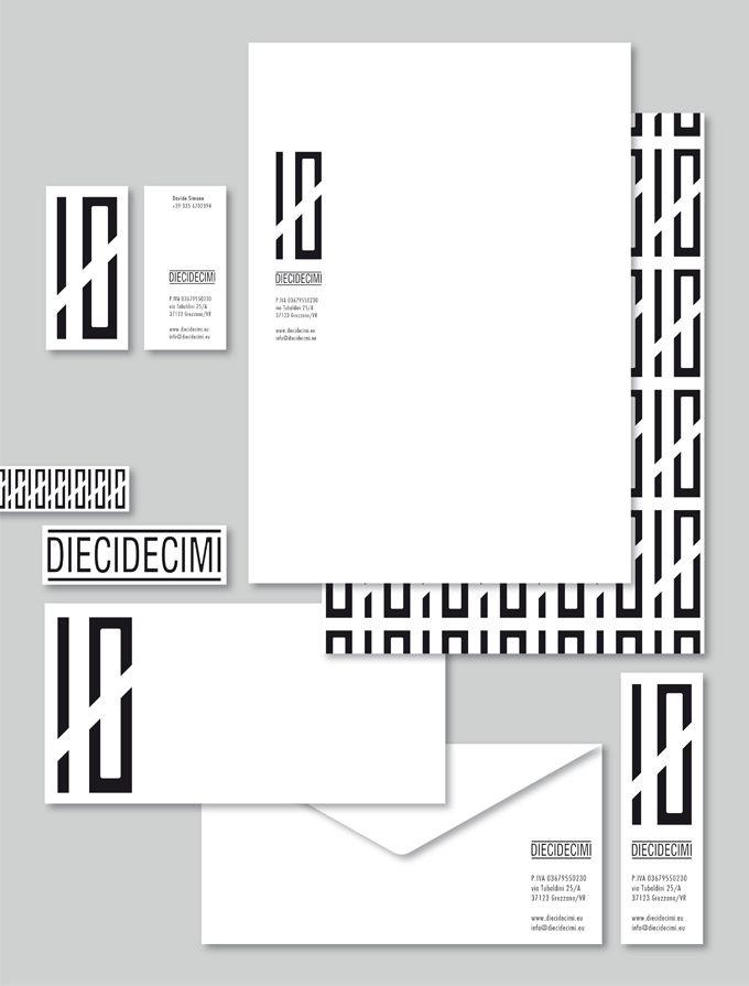 i GUM incaricati per l'immagine coordinata della nuova azienda Diecidecimi  http://www.gumdesign.it/gum/sezioni/graphic_design_diecidecimi.html