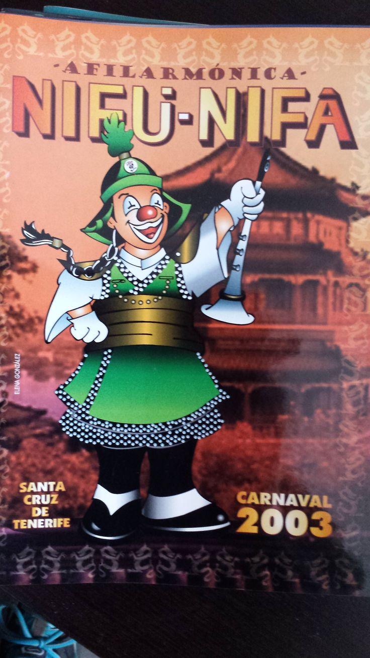 Vendo Cancionero Nifú nifá año 2003. Carnaval de Santa Cruz de Tenerife. Cómpralo aquí: http://www.todocoleccion.net/libros-segunda-mano-musica/cancionero-afilarmonica-nifu-nifa-ano-2003-carnaval-santa-cruz-tenerife~x53315920