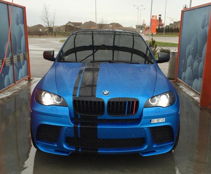 Bmw X6 Matt Metallic Azure Blue Pornjava Dream Cars