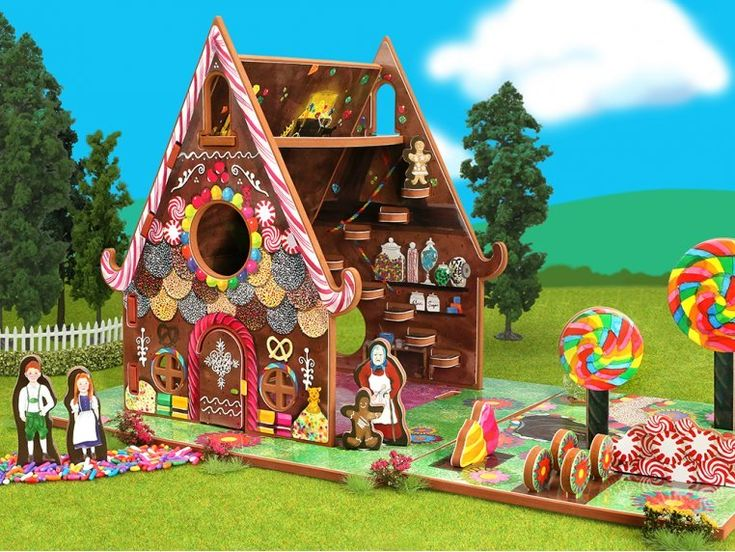 House & Storybook Toy house, Christmas gingerbread house