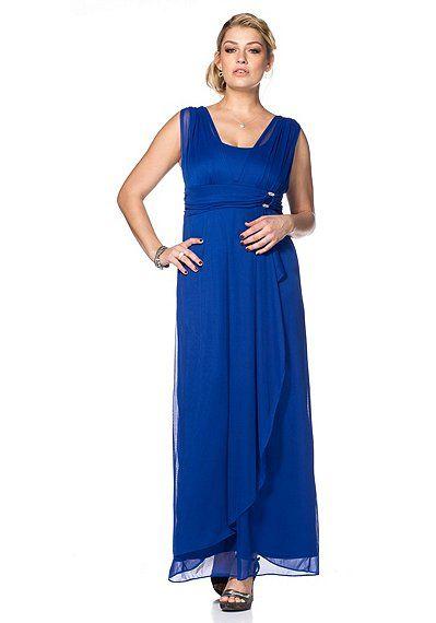 sheego Style Abendkleid - royalblau   sheego XXL-Mode