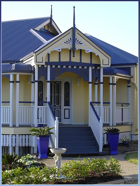 entry detail to Australian Colonial cottage