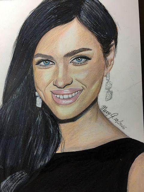 Dibujo Artistico by Mary G.: IRINA SAYK