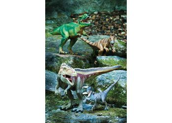 Schleich Large Dinosaurs. These highly detailed dinosaurs all feature mouths that open and close.