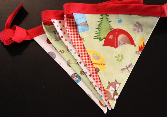 Let's camp bunting