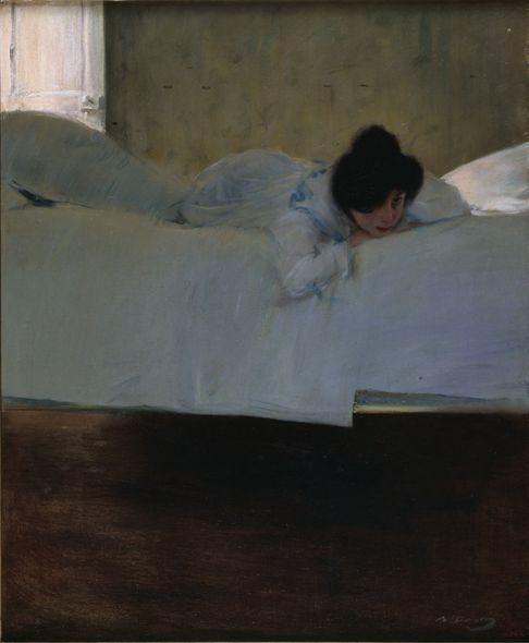 Idleness, Ramon Casas. Spanish (1866 - 1932)