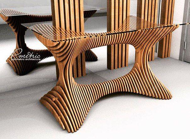 Дизайн мебели и интерьера Parametric ARCH