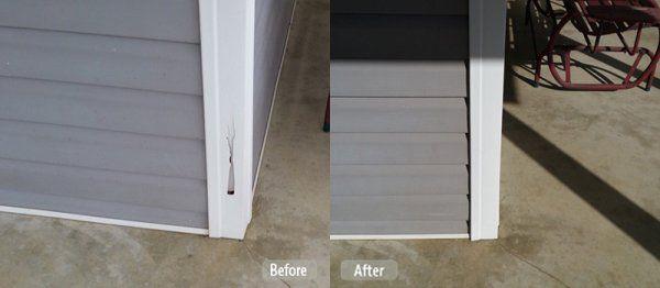 Vinyl Corner Post Hole Repair Vinyl Siding Window Restoration Window Casing