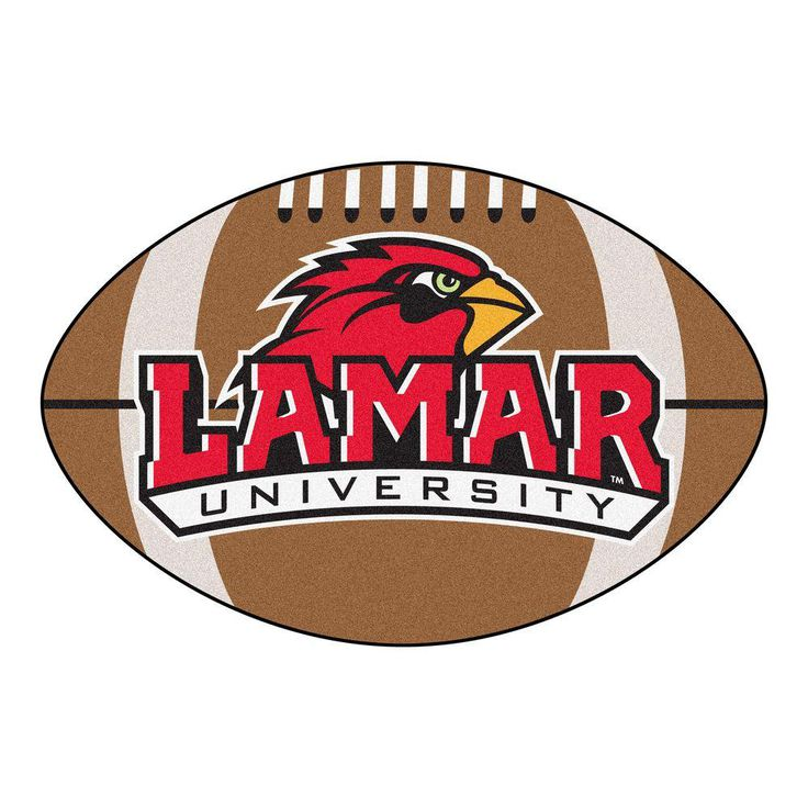 Ncaa Lamar University Brown 1 ft. 10 in. x 2 ft. 11 in. Specialty Accent Rug