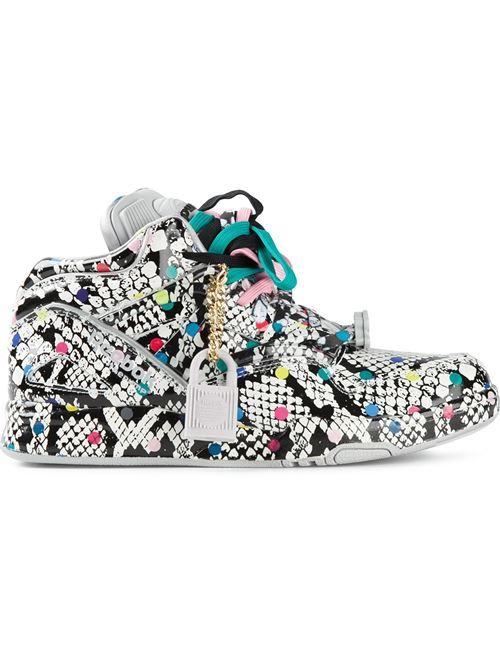 Women - Reebok 'The Pump' Printed Sneakers - WOK STORE
