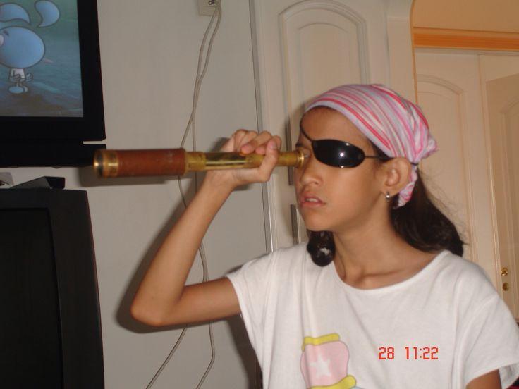 Minha filha pirata