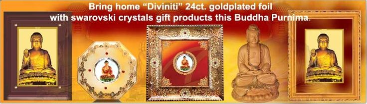 The Buddha gifts online available are having the features of being both religious in outlook and royal in quality. They form a great part of royal selection as gifts for the festival occasion in the Buddha statues. Gifts are in wall frames, table tops and also in the car frames. The Buddha purnima is celebrated by offering of Buddhist gifts with Buddha featuring in them as an ode of remembrance.  @Gail Regan Truax://diviniti.co.in/en/buddha-statue-frame-for-sale