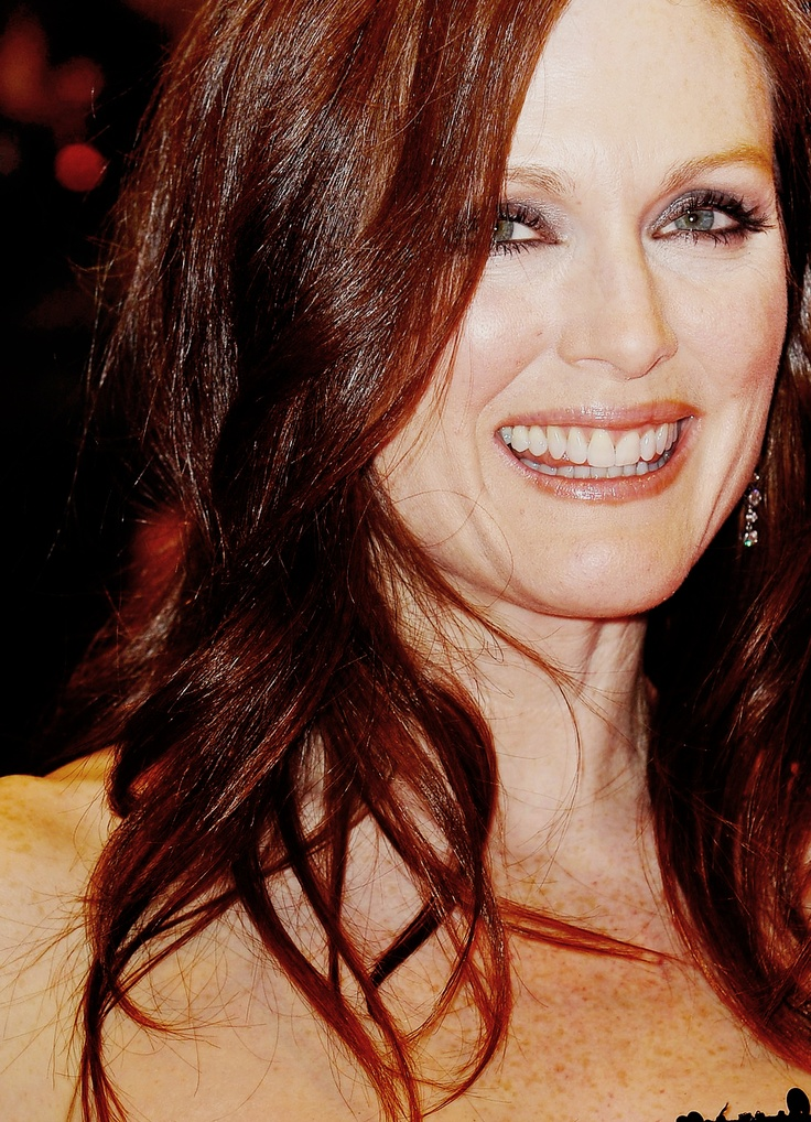 Julianne Moore Redhead Love This Rich Color Hair