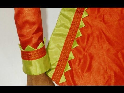 Kameez Sleeves Designs Cutting & Stitching/Suit baju Cutting and seWing - YouTube