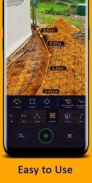دانلود خط و ابزارهای اندازه گیری اندروید AR Ruler App