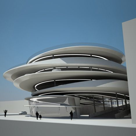Miami Beach Parking Garage by Zaha Hadid