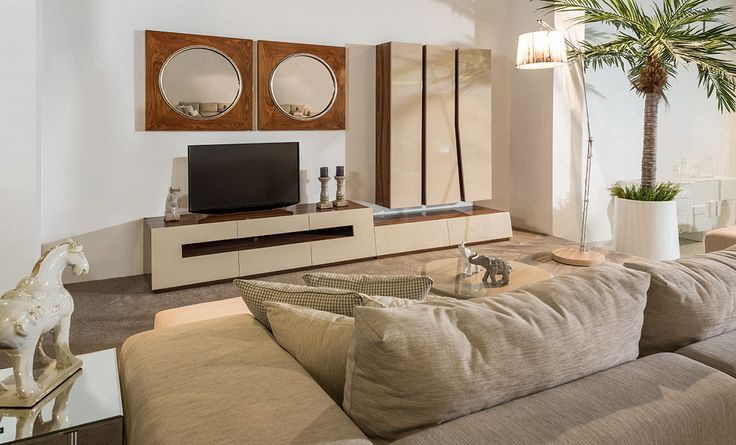 DAKAR - Laskasas | Living Room Decor | Decorate Life | Get involved in the refinement of a sideboard that bring your home back to life, with the purity of earthy tones and options that depart from the inspiration of the sand, the warmth and the excellence of a place to explore. From the refinement of the mirror, make the most of your moments | Discover more modern sofas and mid-century furniture at www.laskasas.com