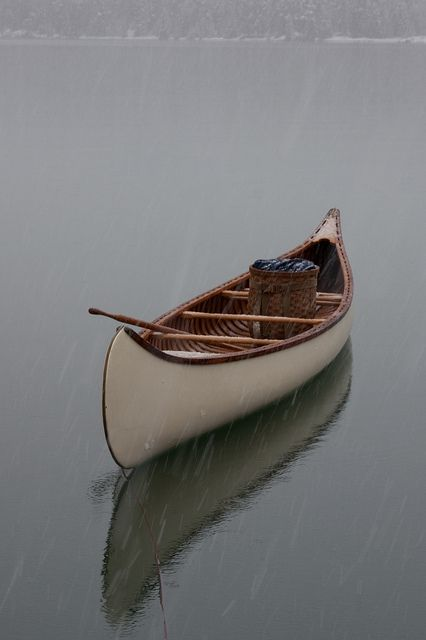 Being alone on a lake without distractions, without people and accompanied by creativity is the way to real happiness .