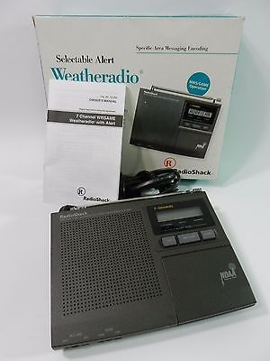 Radio Shack 12-250 Weather Radio 7 channel, NWS, NOAA, Hurricane Tornado Alert