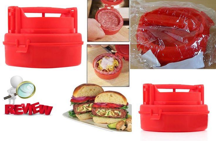 Aliexpress Ebay Haul Stuffed Burger Press Hamburger Grill BBQ Patty Make...