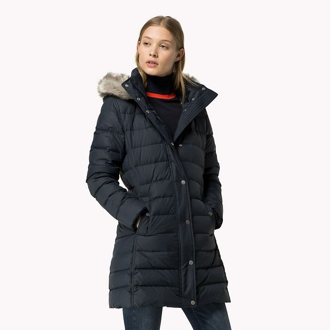 Tommy Hilfiger Padded Down Coat - midnight - Tommy Hilfiger Padded - main image