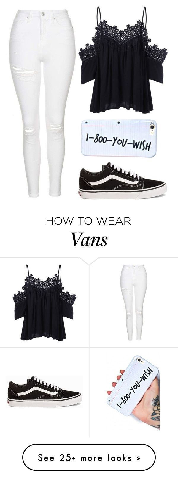 """She got a bad reputation"" by baileejade on Polyvore featuring Topshop and Vans"