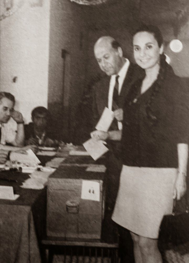 Ayten Gökçer & Cüneyt Gökçer 2 haziran 1968 seçimleri.