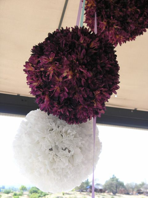 DIY::  Flower & Coffee Filter Pinata