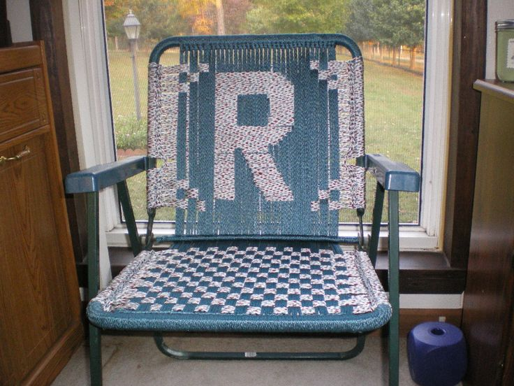 Macrame Lawn Chair Super Easy Macrame Chairs Recycled