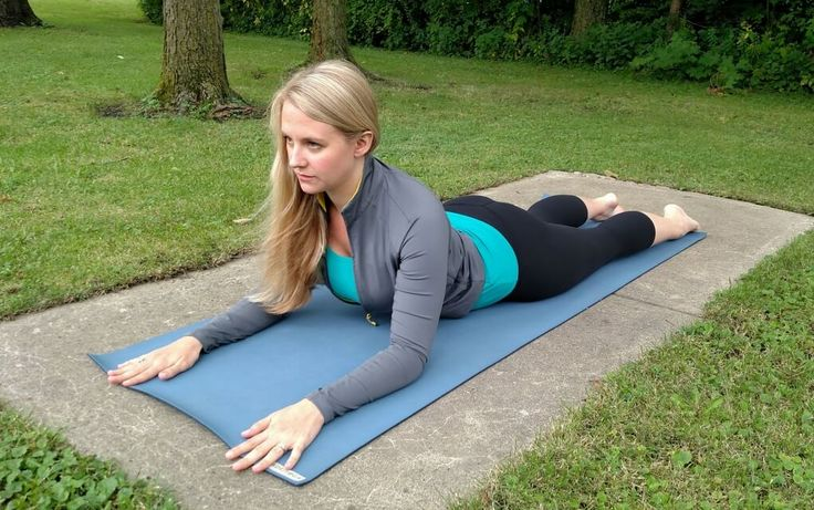 SphinxPose Yin Yoga: a Yin version of Cobra. Benefits, contraindication, pose guide, and modifications are all listed in this article.