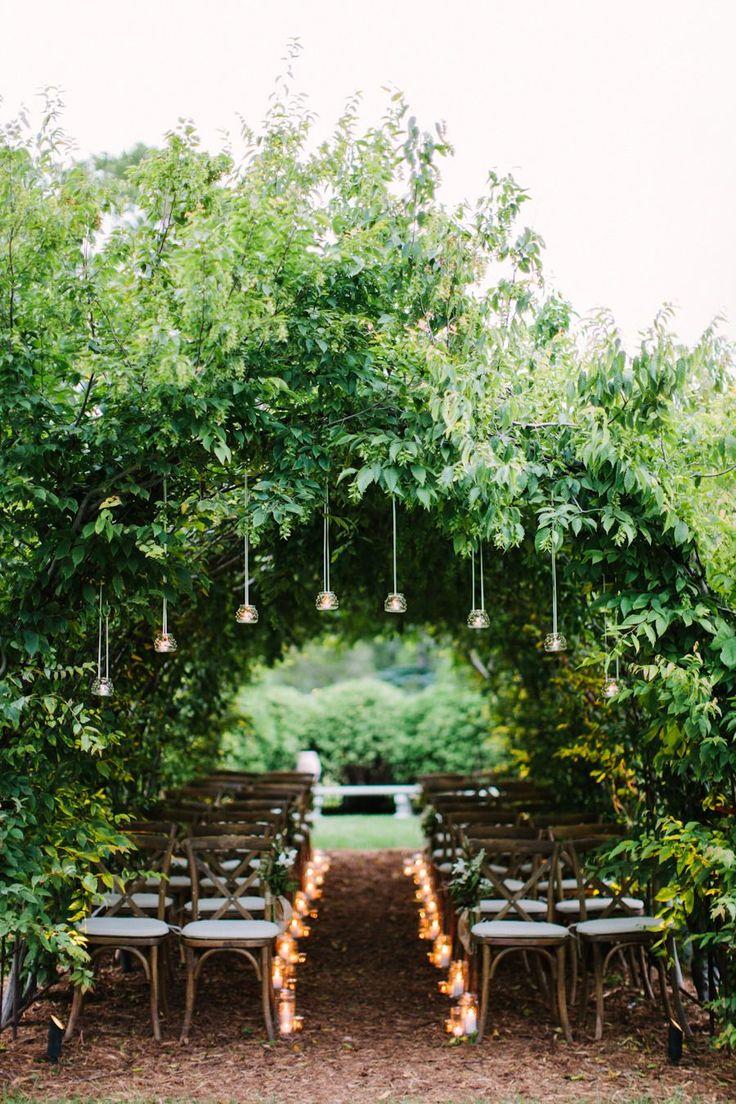 Elegant Dusk Wedding Ideas  Read more - http://www.stylemepretty.com/little-black-book-blog/2014/03/24/elegant-dusk-wedding-ideas/