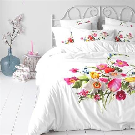 Cinderella Firenze dekbedovertrek op www.smulderstextiel.nl - #bloemprint #bloemen #desfleurs #fleurs #bloemdessin #dekbedovertrek #overtrek #dekbedden #beddengoed #bedtextiel #katoen #cinderella