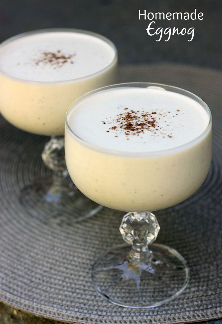 Never tried homemade eggnog before, but I hear it's amazing!