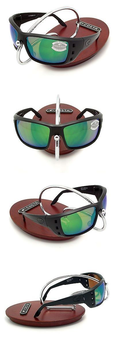 Sunglasses 151543: Costa Del Mar Permit Blackout And Green Mirror Plastic 580 New 580P -> BUY IT NOW ONLY: $139.9 on eBay!