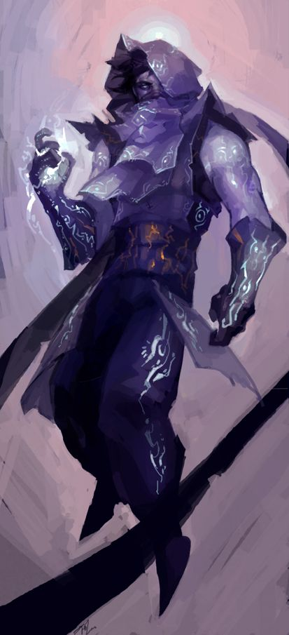 Malzahar by aozorize on deviantART. The magics of the nomads is not to be underestimated.