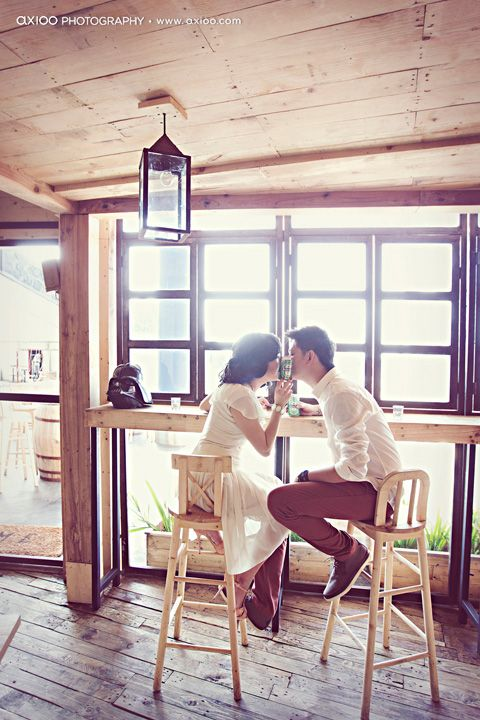 Being in love by axioo photography....would be a cute save the date picture or from honeymoon thank you cards