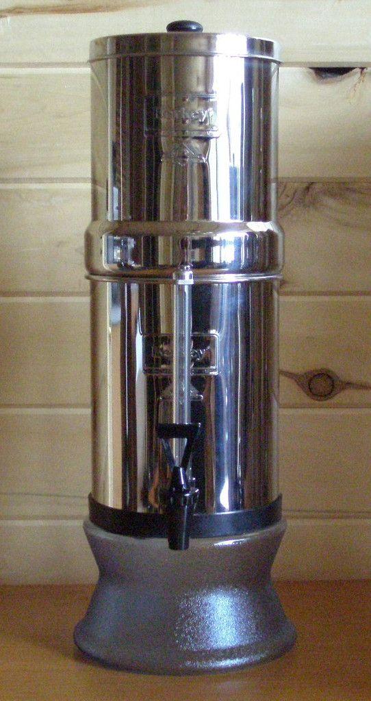 Travel Berkey Water Filter - True Off the Grid Purifier - 1.5 Gal – Rocky Mountain Readiness