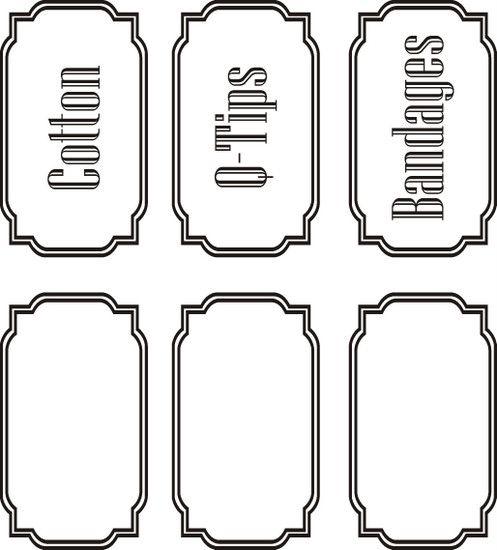 Bathroom Cabinet Clip Art: 17 Best Images About Storage Labels On Pinterest