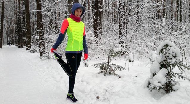Кроссовки зимние для бега