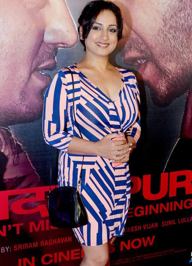 Divya Dutta at the star-studded success bash of 'Badlapur'. #Bollywood #Fashion #Style #Beauty