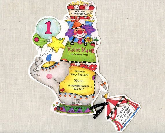 Hey, I found this really awesome Etsy listing at https://www.etsy.com/listing/123958589/25-circus-carnival-clown-birthday-party