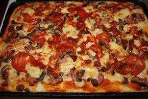 Könnyű házi pizza recept, remekül variálható és hihetetlenül finom!! http://ketkes.com/konnyu-hazi-pizza-recept-remekul-varialhato-es-hihetetlenul-finom/