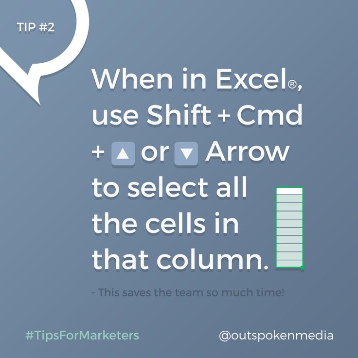 This #Excel hack will make managing data a breeze #tipsformarketers
