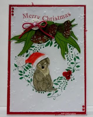 BaRb'n'ShEll Creations-Aussie Christmas, Koala, - BaRb