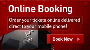 Magna £32.80 family ticket