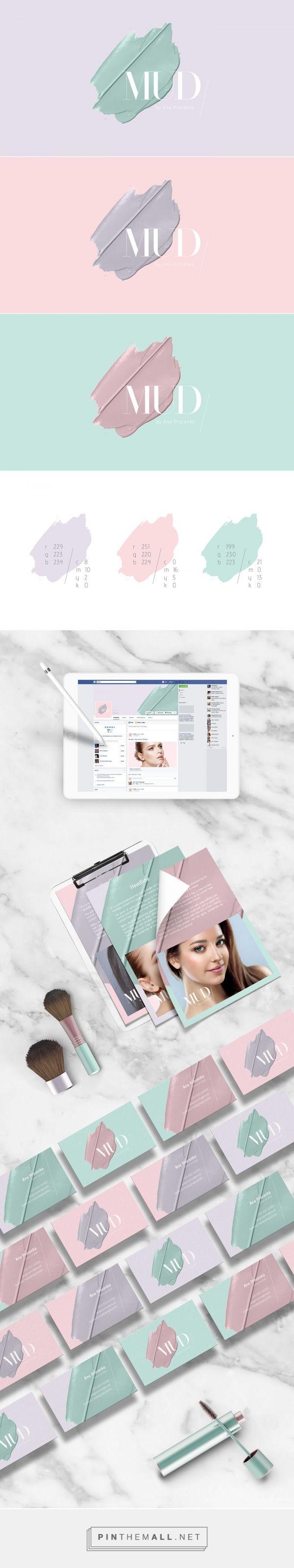 MUD Cosmetics Branding by Migle Sciglinskaite | Fivestar Branding Agency – Design and Branding Agency & Curated Inspiration Gallery