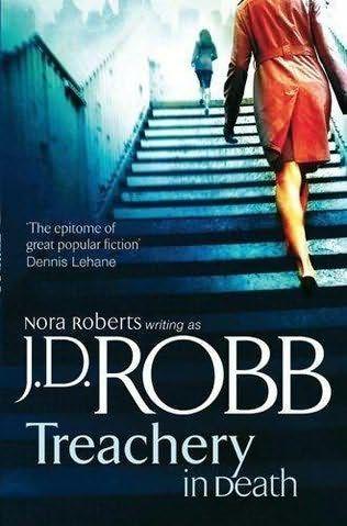 Treachery in Death by JD Robb... Oh I love Rourke