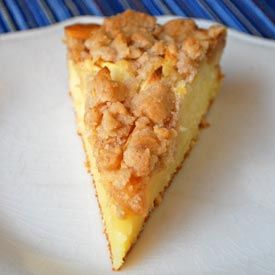 Apple Kuchen -My grandma used to make this special for me for the holidays Mmmm!