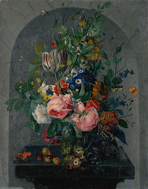 Kvetinové zátišie   Stredoeurópsky maliar z 2. polovice 18. storočia   1760/1780   Slovak National Gallery   CC BY